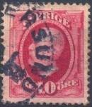 Stamps Europe - Sweden -  King Oscar II