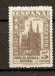 Sellos de Europa - España -  Junta de Defensa Nacional.