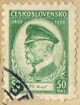 Stamps Czechoslovakia -  CESKOSLOVENSKO