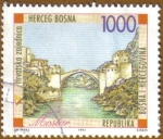 Stamps Europe - Bosnia Herzegovina -  MOSTAR