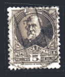 Stamps Spain -  Francisco Pi y Margall