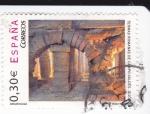 Sellos de Europa - España -  termas romanas