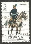 Stamps Spain -  2425 - Uniforme Militar de Comandante de Estado Mayor