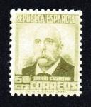 Stamps Europe - Spain -  Emilio Castelar