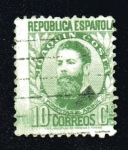 Stamps Europe - Spain -  Joaquín Costa