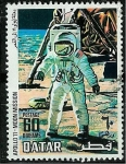 Stamps Asia - Qatar -  MOOM MISSION