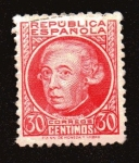Stamps : Europe : Spain :  Gaspar Melchor de Jovellanos
