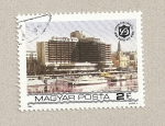 Stamps Hungary -  Duna Intercontinental hotel
