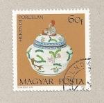Stamps Hungary -  Porcelana Herendi