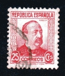 Stamps : Europe : Spain :  Manuel Ruiz Zorrilla