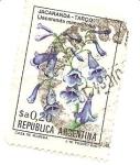 Stamps : America : Argentina :  Jacaranda= Tarco