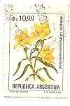Stamps : America : Argentina :  Amancay