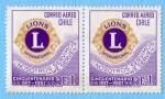 Sellos de America - Chile -  Cincuentenario club de Leones