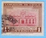 Stamps : America : Chile :  Sesquicentenario del primer gobierno nacional
