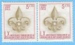 Stamps : America : Chile :  40 Aniversario Boy Scouts de Chile