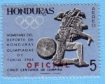 Stamps : America : Honduras :  Homenaje del Deporte de Honduras