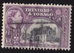 Sellos del Mundo : America : Trinidad_y_Tobago : TRINIDAD Y TOBAGO - TOWN HALL SAN FERNANDO