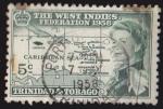 Stamps America - Trinidad y Tobago -  TRINIDAD Y TOBAGO - THE WEST INDIES FEDERATION 1958