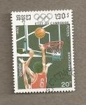 Stamps Asia - Cambodia -  Olimpiadas Barcelona 92