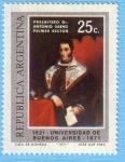 Sellos de America - Argentina -  Universidad de Buenos Aires