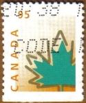 Stamps America - Canada -  Hoja de Arce