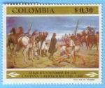 Stamps Colombia -  Sesquicentenario de la campaña Libertadora