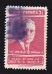 Stamps Panama -  PANAMÁ - DON EUSEBIO A. MORALES -BODAS DE ORO DEL INSTITUTO NACIONAL