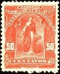 Sellos del Mundo : America : El_Salvador : Mujer con hoz y cosecha. UPU 1899.