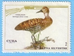 Stamps : America : Cuba :  Fauna Silvestre - Yaguaza