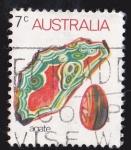 Stamps Australia -  AUSTRALIA - AGATA