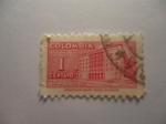 Stamps Colombia -  Sobretasa para Construcción-Palacio de Comunicaciones..