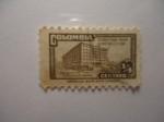 Sellos de America - Colombia -  Sobretasa para Construcción-Palacio de Comunicaciones..