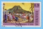 Stamps Venezuela -  Danzas Populares - El Carite
