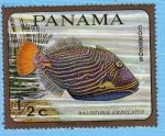 Stamps Panama -  Balistipus Undulatus