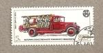 Stamps Russia -  Coche bomberos