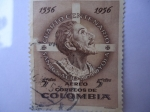 Stamps of the world : Colombia :  Cuarto Centenario San Ignacio de Loyola.