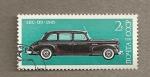 Stamps Russia -  Automovil de fabricación soviética (ZIS de 1945)