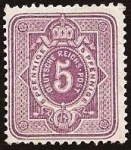 Stamps Europe - Germany -  Clásicos - Imperio Alemán