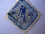 Sellos de America - Colombia -  VII Vuelta a Colombia en Bicicleta (1957)