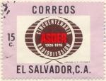 Stamps America - El Salvador -  ASDER