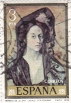 Stamps Spain -  Sra Canals (Picaso)     (D)