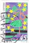 Stamps Spain -  diseño infantil    (D)