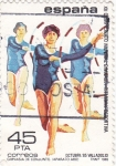 Stamps Spain -  Gimnasia de conjunto    (D)