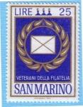 Stamps San Marino -  Veterani della filatelia