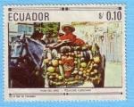 Sellos de America - Ecuador -  Pase del niño