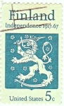 Stamps : Europe : Finland :  INDEPENDENCE