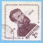 Sellos de Europa - Hungría -  Michelangelo Buonarroti
