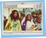 Stamps : America : Ecuador :  Pase típico del niño