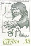 Stamps Spain -  La Celestina- literatura española      (D)