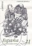 Stamps Spain -  El lazarillo de Tormes- literatura española     (D)